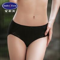 【买3免1】安莉芳女士内裤性感纯色棉质底裆舒适低腰三角裤E2W0053