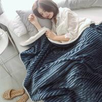 珊瑚绒毯子冬季家用加厚春秋单人学生儿童午睡毯