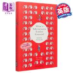 【中商原版】爱丽丝梦游记:原始手稿版,附彩图 英文原版 Alices Adventures Under Ground:
