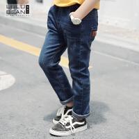 2018新款韩版宝宝秋装中大童儿童长裤子薄款长裤童装男童牛仔裤
