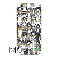秋田犬iphone6s手�C�と障挡袢���性文��O果X全包保�o套8防摔���
