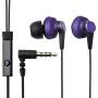 Elecom 宜丽客 IPIN300 入耳式耳机手机线控立体声音乐耳机 带麦可通话