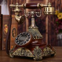 电话机家用座机时尚仿古电话机欧式复古座机美式创意老式高档电话