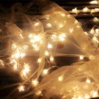 LED彩灯闪灯串灯满天星房间卧室装饰灯宿舍电池星星灯串USB小灯泡家居家纺家装软饰节庆