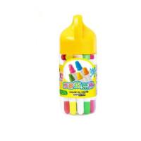 60209筒装填色笔 水溶性炫彩棒24色 旋转炫绘棒12色 儿童彩色蜡笔18色