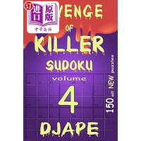 【中商海外直订】Revenge of Killer Sudoku 4: 150 of All New Puzzles