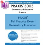 【中商海外直订】PRAXIS 5005 Elementary Education Science