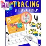 【中商海外直订】Tracing Letters & Numbers for preschool abc Transpo