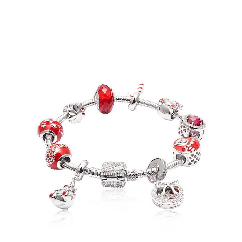 【网易严选超品日返场】萌趣小熊 925银串珠手链 可DIY设计,讲自己的童话故事。