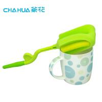 茶花 茶花杯刷长柄加长家用保温杯海绵刷茶渍水杯清洁刷子小奶瓶洗杯刷