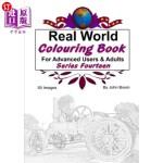 【中商海外直订】Real World Colouring Books Series 14