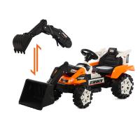 遥控推挖土机可坐可骑全电动大号男孩勾机工程车儿童挖掘机玩具车