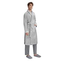 【网易严选 好货直降】男式经典珊瑚绒加厚睡袍