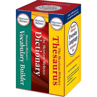 【二手旧书8成新】韦氏英语词字典词典辞典 3本全套 Merriam-Webster's Dictionary 2016
