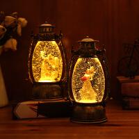 音乐盒女孩公主摆件抖音许愿风灯结婚生日礼物夜灯