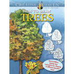 Creative Haven How to Draw Trees (【按需印刷】)