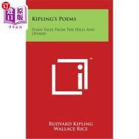 【中商海外直订】Kipling's Poems: Plain Tales from the Hills and Othe