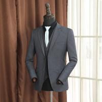 西服套装男士修身三件套商务职业工装韩版西装新郎结婚西装礼服