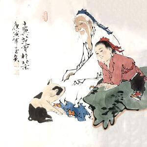 当代国学大师,书画巨匠,北京大学中国画画法研究院院长范曾(拾趣)4