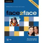 【预订】Face2face Pre-Intermediate Workbook with Key