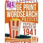 【中商海外直订】Large Print Wordsearches Puzzles Popular Movies of