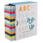 Pop-Up ABC 英文原版进口儿童书 3-6岁幼儿英语启蒙 趣味互动立体书