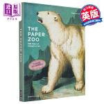 【中商原版】纸上动物园:500年艺术中的动物(附大英图书馆大量动物插图)英文原版 Paper Zoo: 500 Yea