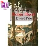 【中商海外直订】The Merry Adventures of Robin Hood