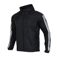 Adidas阿迪达斯 男装 运动防风衣休闲训练夹克外套 EK4727