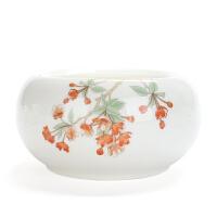 功夫茶具套装家用陶瓷茶道杯洗水盂茶碗茶壶