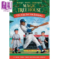 【中商原版】神奇树屋第一季:29 Magic Tree House #29 A Big Day for Baseball
