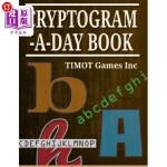【中商海外直订】Cryptogram a Day Book: Fun Problem Solving Puzzles
