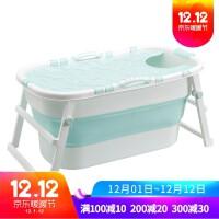 可折叠泡澡桶大人家用洗澡桶儿童沐浴桶婴儿洗澡盆游泳池