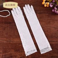 家用结婚庆用品新娘蕾丝红色白色结婚手套婚纱旗袍婚礼短款长款手套SN0239