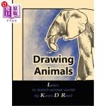【中商海外直订】Drawing Animals: Learn to Sketch Animal World!