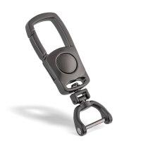 汽车遥控器男士腰挂钥匙扣 创意钥匙链挂件金属钥匙圈环刻字定制创意可爱简约挂件
