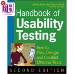 【中商海外直订】Handbook of Usability Testing: How to Plan, Design,