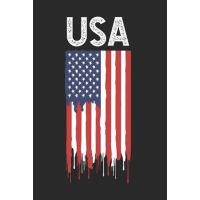 【预订】USA: USA Flag Composition Notebook, 4th Of July Writing