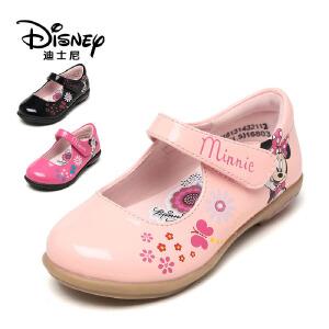 【达芙妮超品日 2件3折】鞋柜/迪士尼秋款女童单鞋韩版公主鞋