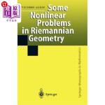 【中商海外直订】Some Nonlinear Problems in Riemannian Geometry