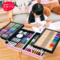 儿童画画套装工具画笔礼盒小学生水彩笔美术绘画学习用品生日礼物