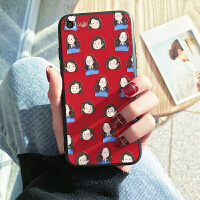 情侣手机壳苹果6s女款个性创意8plus韩国潮牌iphonex套新款六七7p防摔社会人抖音同款超薄外