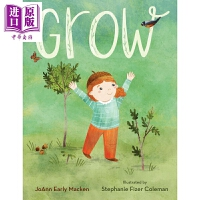 【中商原版】Stephanie Fizer Colman:Grow 成长绘本 原版进口