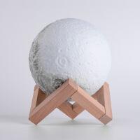 3D月球灯3D蓝牙音箱月亮灯触控拍拍遥控USB台灯床头小夜灯 0.5