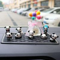 创意车内饰品摆件女可爱汽车中控台车载玩偶卡通*摆设