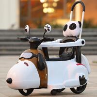 两三岁小孩玩的婴儿电车 新款儿童电动摩托车三轮车6个月6岁轻便手推车小孩充电可坐玩具车