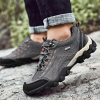 秋季登山鞋男防滑休闲户外旅行鞋耐磨徒步爬山运动鞋