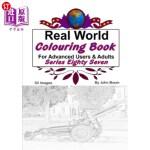 【中商海外直订】Real World Colouring Books Series 87