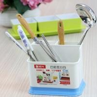 振兴 四格餐具筒 筷子架 厨具架 收纳架 厨房收纳 YH5892 颜色随机