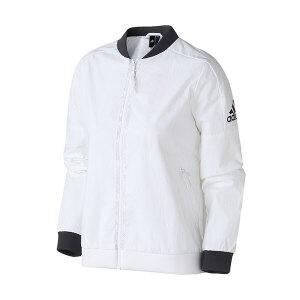 adidas阿迪达斯女子夹克外套立领休闲运动服DM5258